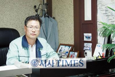 노효석 대표, (주)건일자동문에 운명 걸었다!