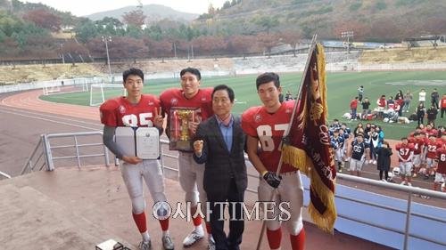 한국 슈퍼볼인 김치볼을 향해 뜨거워진 대한 미식축구