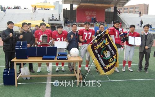 한국판 슈퍼볼인 '김치볼 대회' 성황리에 개최