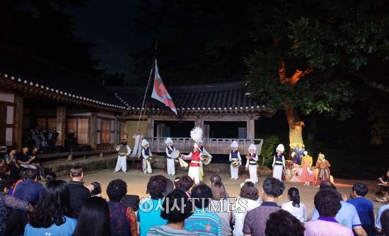한옥 상설공연 '모양마을 사람들' 19일 성황리 폐막