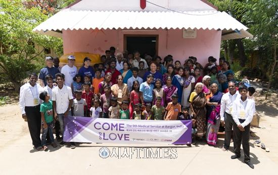 씨엘바이오, 인도 바르구르 한센인 마을서 글로벌 자원봉사 실시