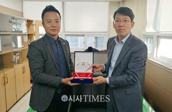 밀알복지재단, 한국마사회 인천부평지사에 장애인일자리 마련 공로 감사패 전달