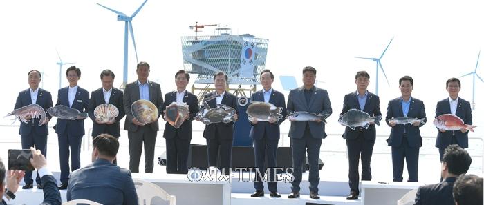 한국판 그린뉴딜, 전북서 첫 발걸음…전북 서남권 해상풍력사업 본격 추진