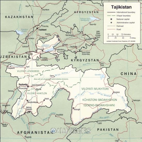 영원한 KOICA man 송인엽 교수 [나가자, 세계로! (58)] 30. 타지키스탄(Tajikistan)
