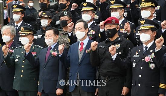 [포토] 전북청 경찰특공대 창설식 가져