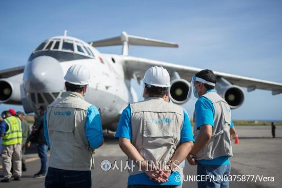 유니세프, 세계 10개 주요 항공사들과 코로나19 백신 운송 업무 협약 체결